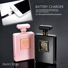 【予約販売/11月下旬頃より順次発送】香水ケース型モバイルバッテリー