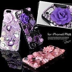 3DデコレーションiPhone6Plusケース